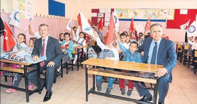 Şahinbey'den eğitime destek