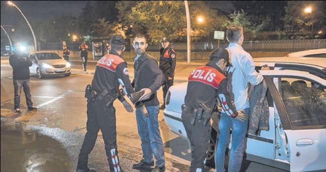 Polisin operasyonuyla başkent 'Huzur'a erdi