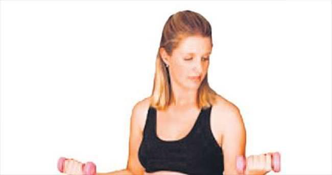 Doğum sancısı aerobikle azalıyor