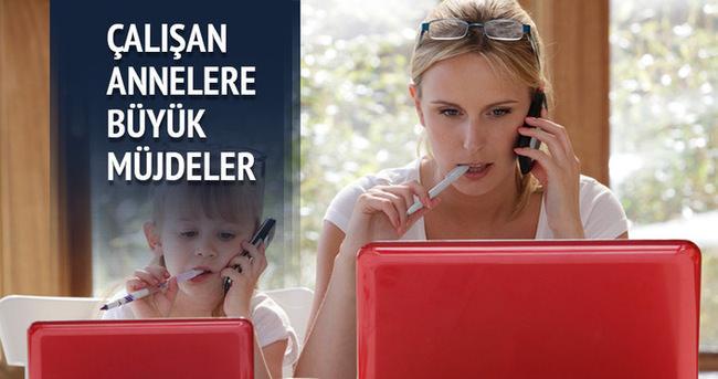 AK Parti'den çalışan annelere büyük müjdeler