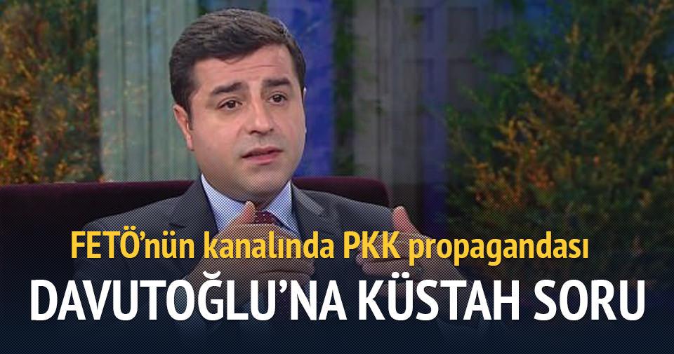 FETÖ'nün kanalında PKK propagandası