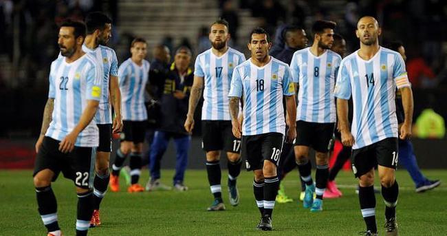 Messi'siz Arjantin kötü başladı
