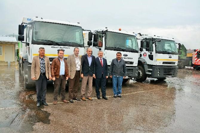 Körfez Belediyesi Temizlik Filosunu Genişletiyor