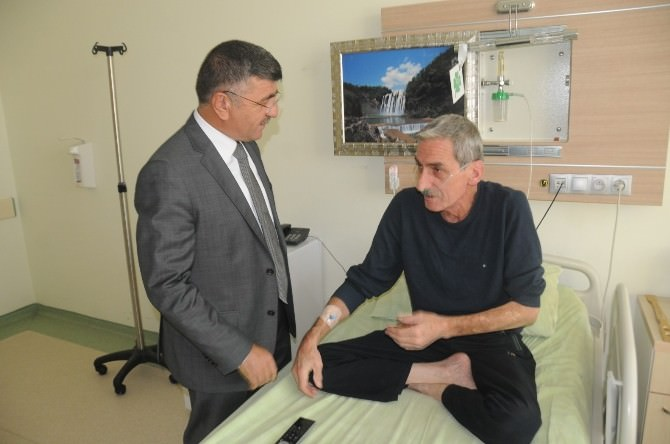 Niğde Belediye Başkanı Faruk Akdoğan Hasta Ziyaretine Devam Ediyor