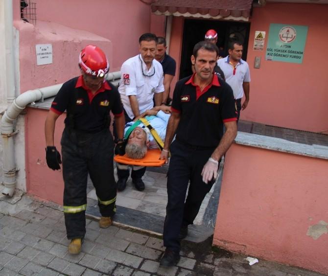 Öğrenci Yurdunun Yük Asansörü Koptu: 1 Yaralı