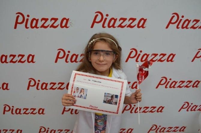 Piazza'nın Küçük Mucitleri Yeni Buluşlar Peşinde