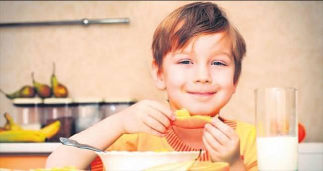 Çocuklarda konsantrasyon için kahvaltı önemli