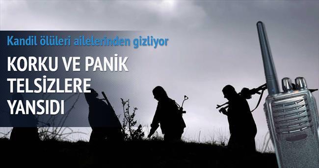 PKK telsizinden itiraf: Bozguna uğradık
