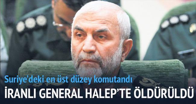 İranlı tuğgeneral Halep'te öldürüldü
