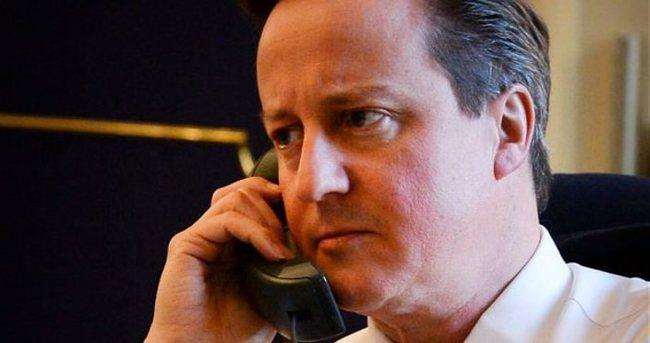 Cameron ve Çipras'tan taziye telefonu