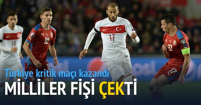 Milliler kritik Çek Cumhuriyeti maçını kazandı