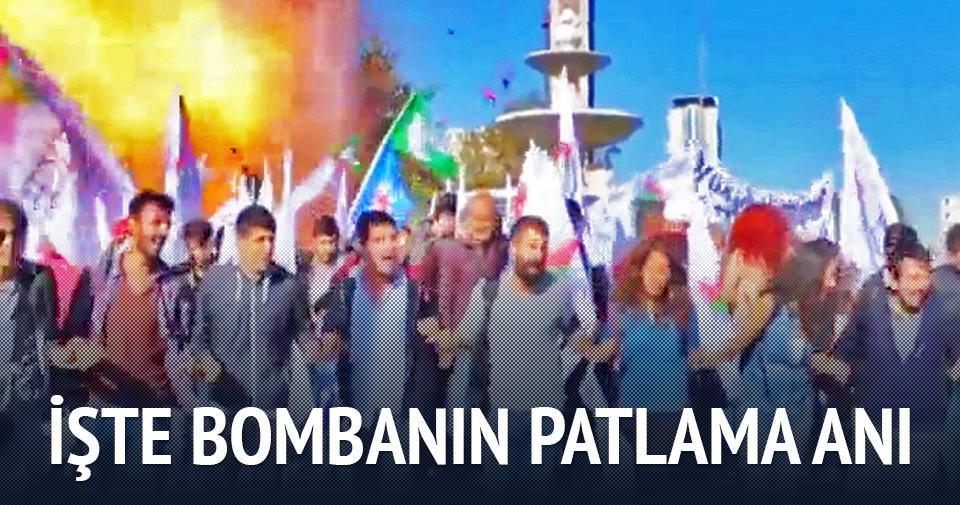 Ankara'daki bomban�n patlama an� video g�r�nt�leri izle