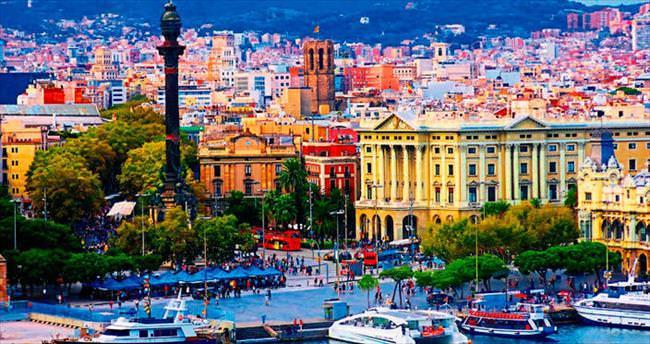 Barselona sokaklarında kaybolmak...
