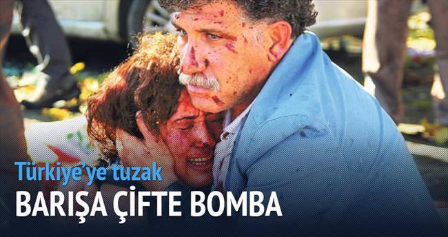 Barışa çifte bomba