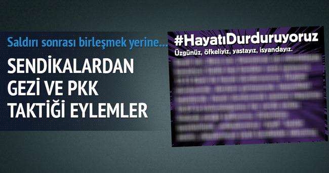 Ankara'daki patlama sonrası hayatı durdur çağrısı