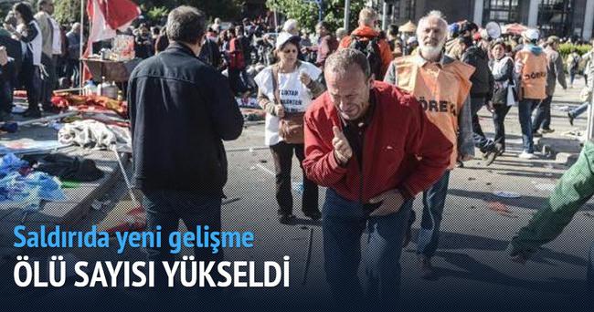 Ankara'daki saldırıda ölenlerin sayısı 97'ye yükseldi