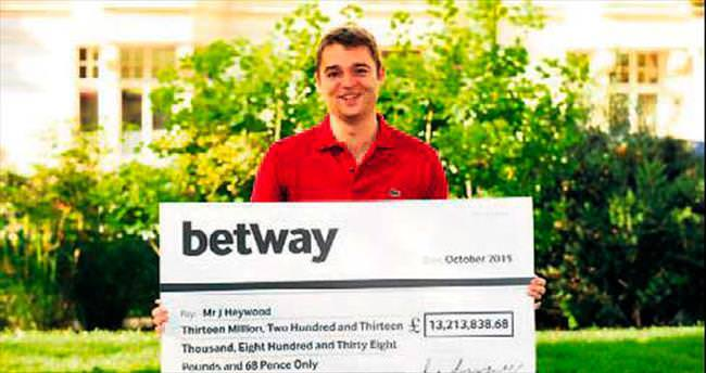 25 peniye 13.2 milyon sterlin kazandı