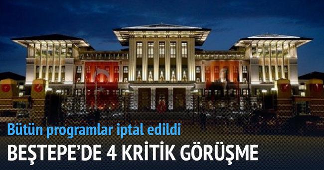 Programlar iptal! Ankara'da kritik gündem