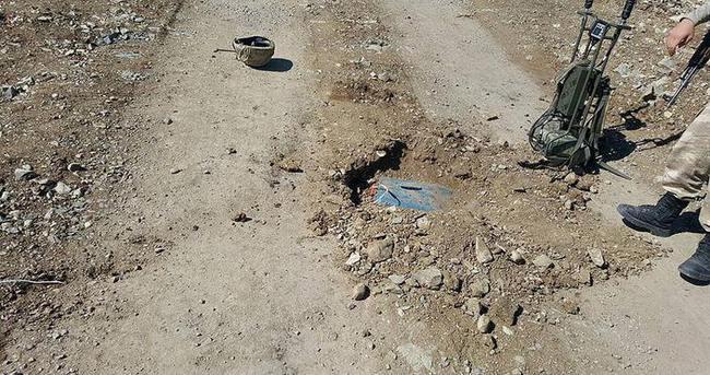 Şırnak'ta çok sayıda el yapımı patlayıcı imha edildi