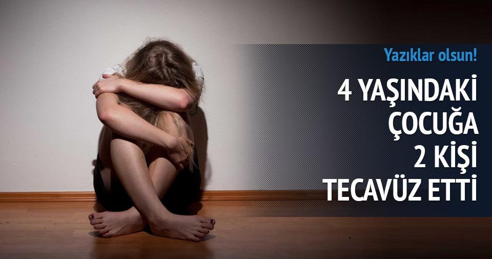 Hindistan'da 4 yaşındaki çocuğa 2 kişi tecavüz etti