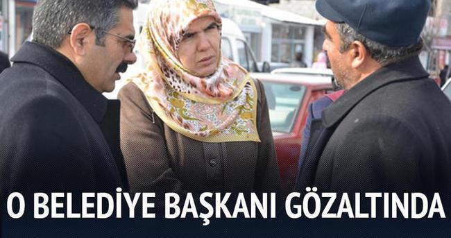 Erciş Belediye Başkanı'na gözaltı