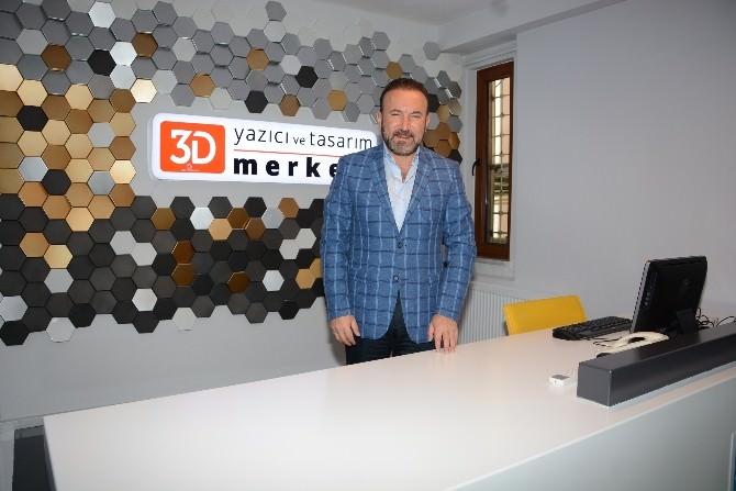 3d Yazıcı Ve Tasarım Merkezi Açılıyor