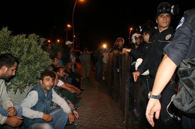 Marmaris'te Terör Eyleminde Olaylar Çıktı
