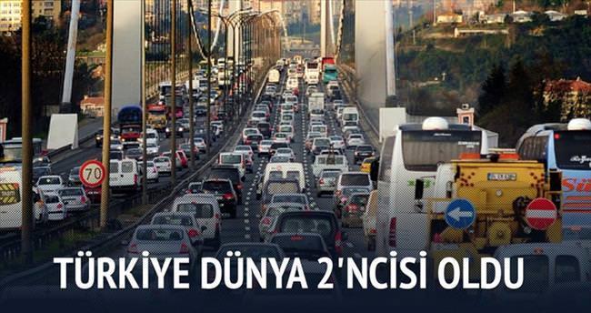 Türkiye LPG'de dünya 2'ncisi