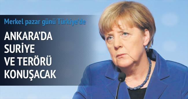 Ankara'da Suriye ve terörü konuşacak