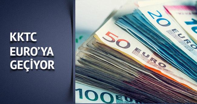 KKTC TL'den Euro'ya geçiyor