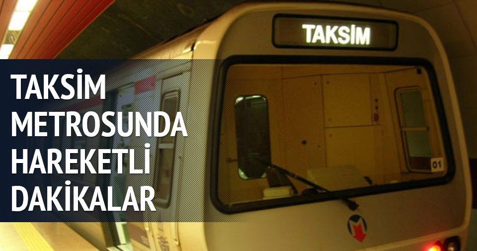 Taksim Metro İstasyonu tekrardan açıldı