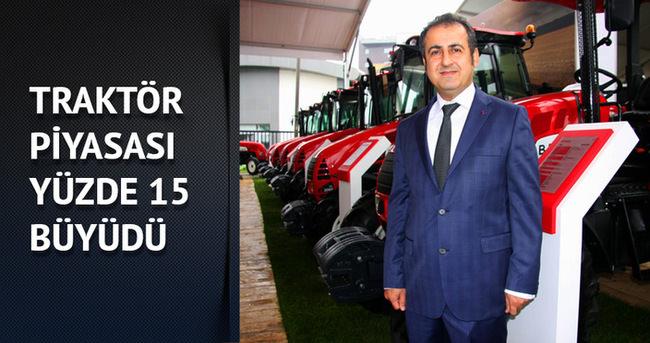 Traktör piyasası yüzde 15 büyüdü