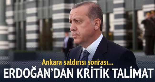 Cumhurbaşkanı Erdoğan'da 'Ankara' açıklaması
