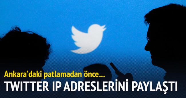 Twitter 3 IP adresini Türkiye'ye verdi