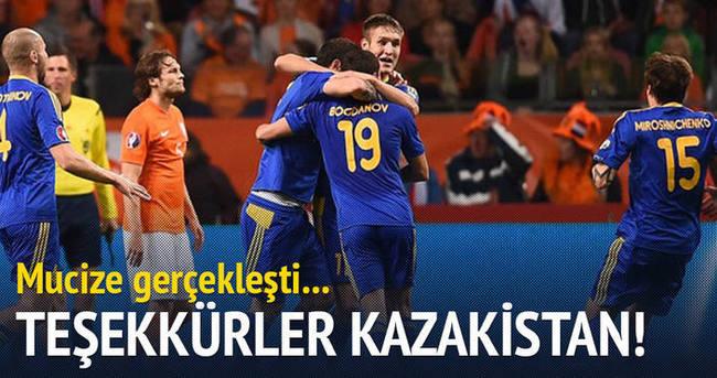 Teşekkürler Kazakistan