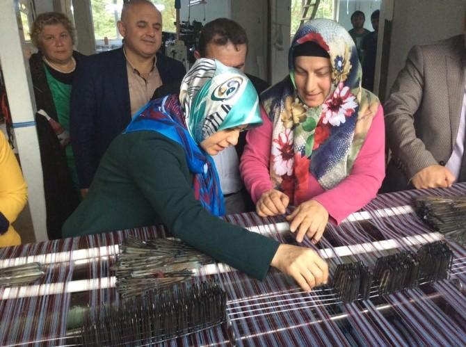 AK Parti Trabzon Milletvekili Köseoğlu'na Çarşıbaşı'nda Sevgi Seli