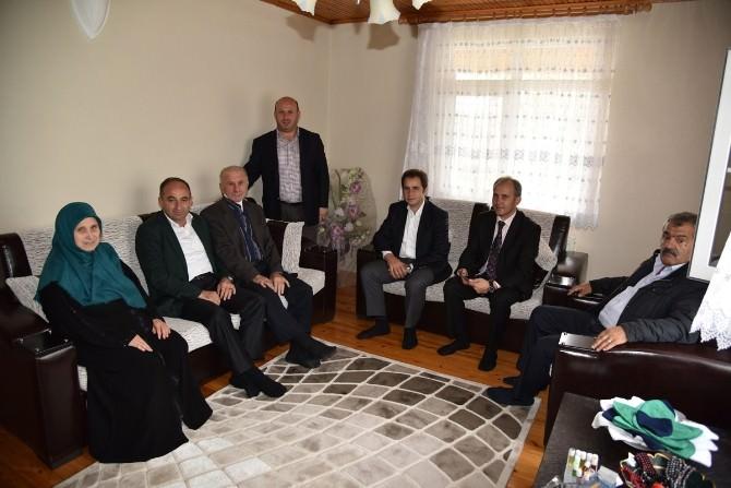 Başkan Üzülmez Hacıları Ziyaret Etti