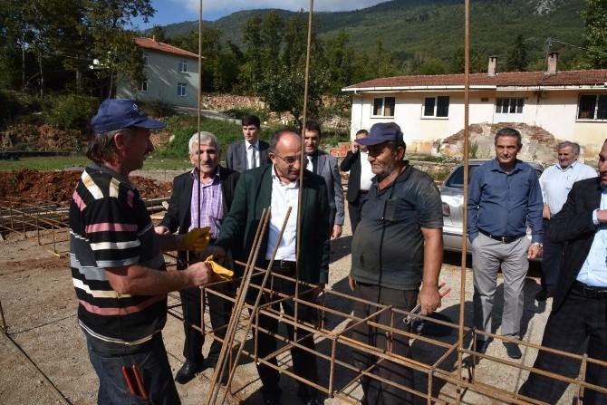Kartepe Belediye Başkanı Dağ Köylerini Gezdi