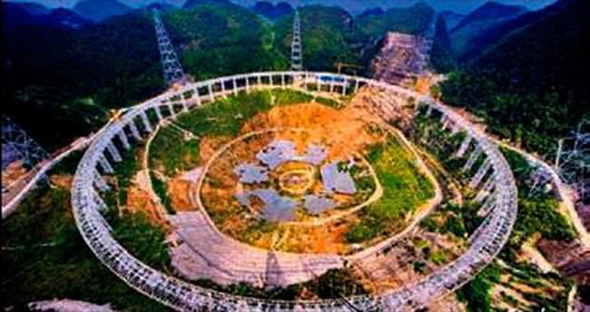 Çin, en büyük teleskopu yapıyor