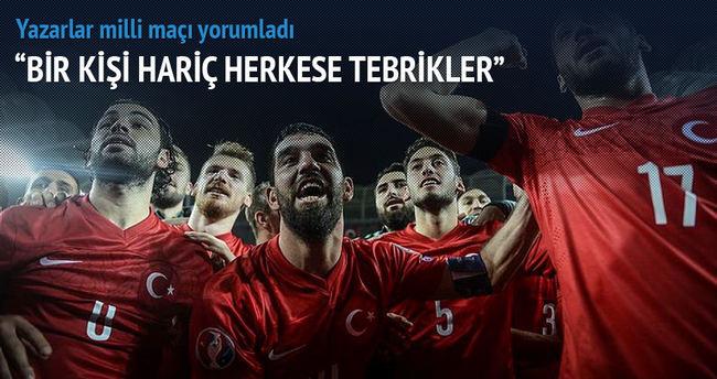 Yazarlar Türkiye-İzlanda maçını yorumladı