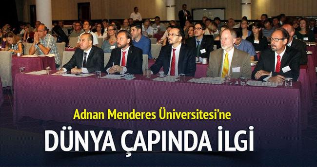 Adnan Menderes Üniversitesi'nde düzenlenen Fenoloji Kongresi dünya çapında ilgi uyandırdı.
