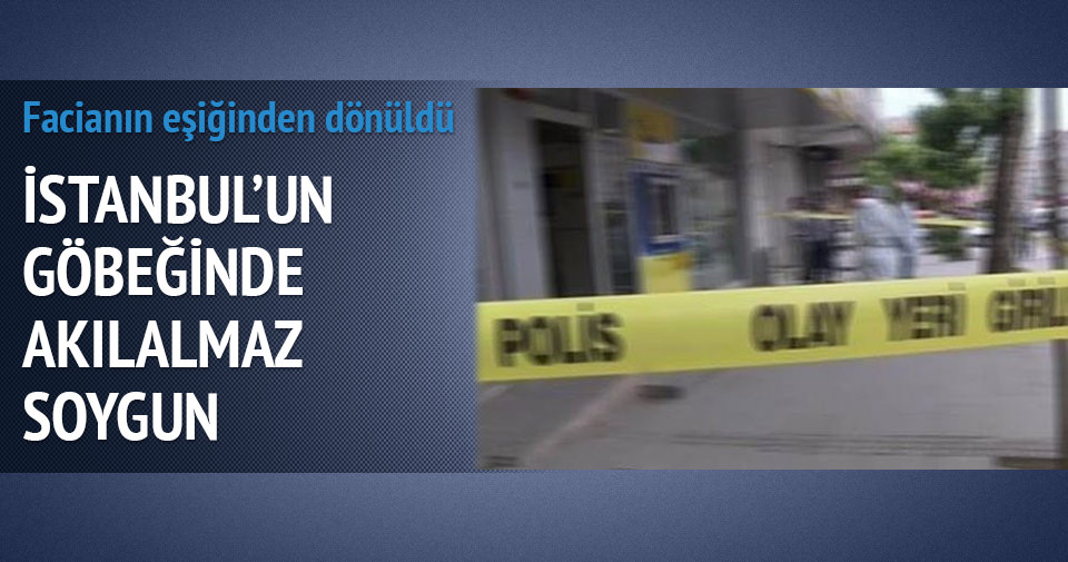 Beyoğlu'nda PTT'de silahlı soygun