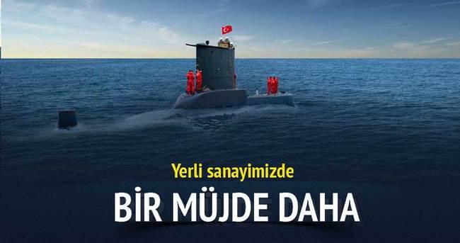 Yerli denizaltı müjdesi