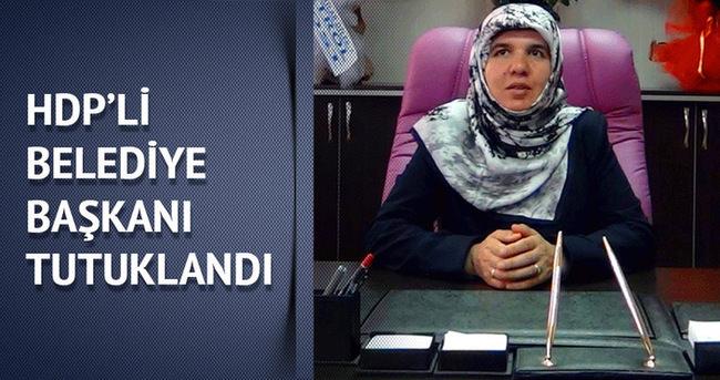 Erçiş Belediye Başkanı Diba Keskin, tutuklandı