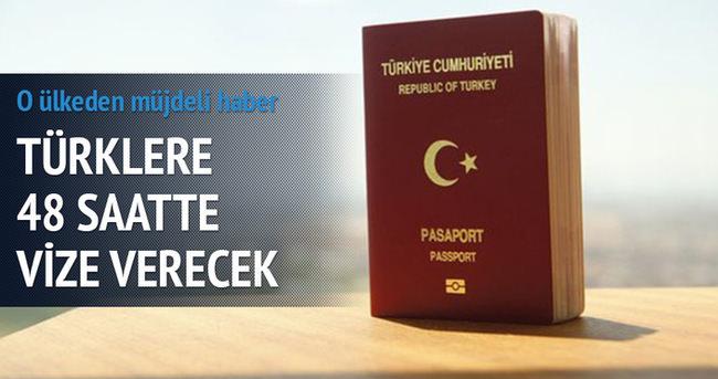 Fransa'dan Türkler'e 48 saatte vize