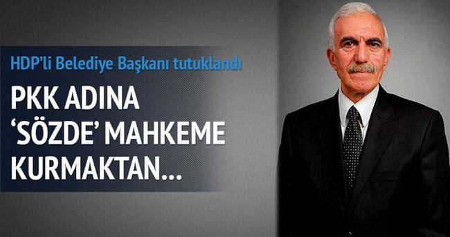 HDP'li Belediye Başkanı tutuklandı