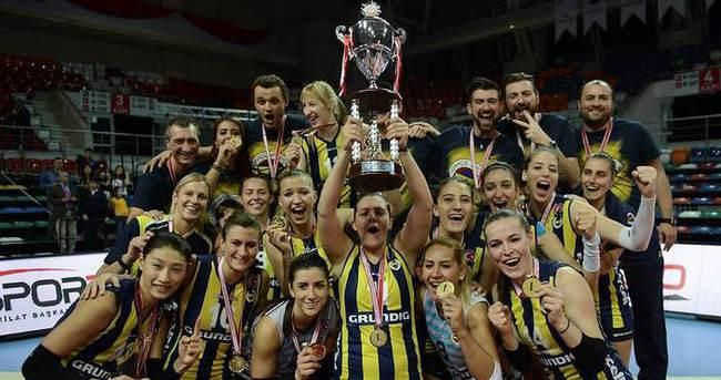 Şampiyonlar Kupası Fenerbahçe Grundig'in