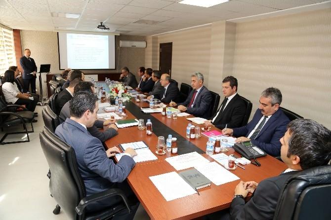 Gümüşhane'de İl Su Yönetimi Koordinasyon Kurulu Toplandı