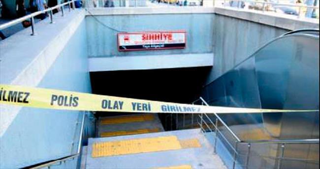 Metroda yaşanan intihar korkuttu