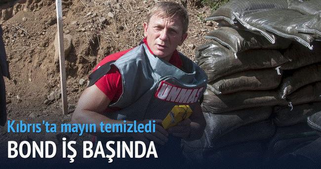 Bond Kıbrıs'ta mayın temizledi